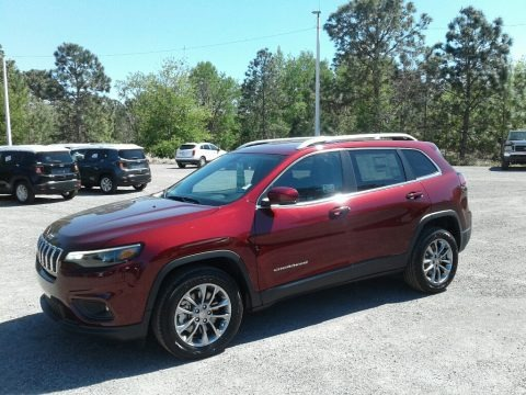 Velvet Red Pearl 2019 Jeep Cherokee Latitude Plus