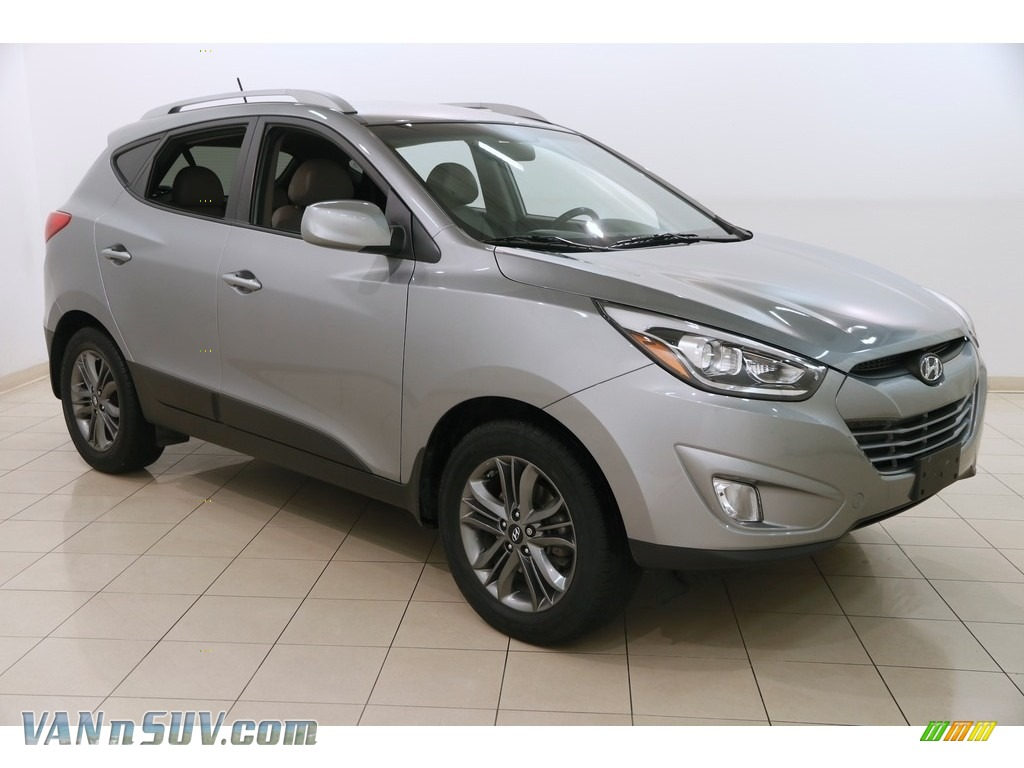 2015 Tucson Limited AWD - Graphite Gray / Beige photo #1
