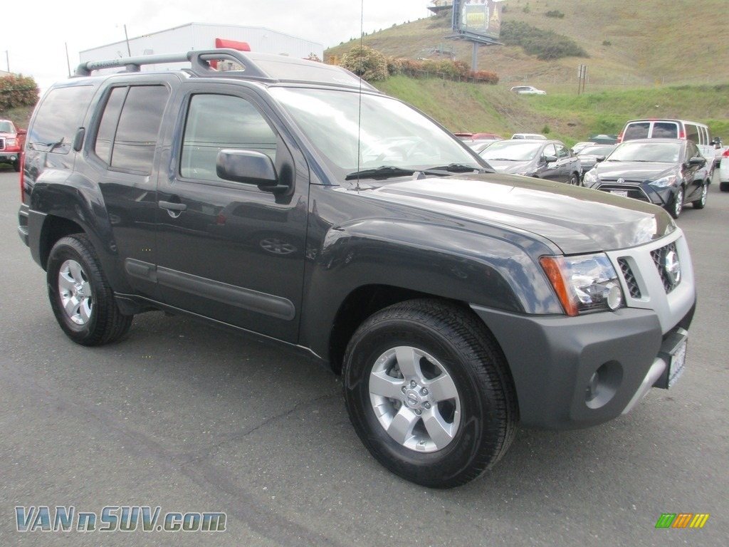 2012 Xterra S - Night Armor / Gray photo #1