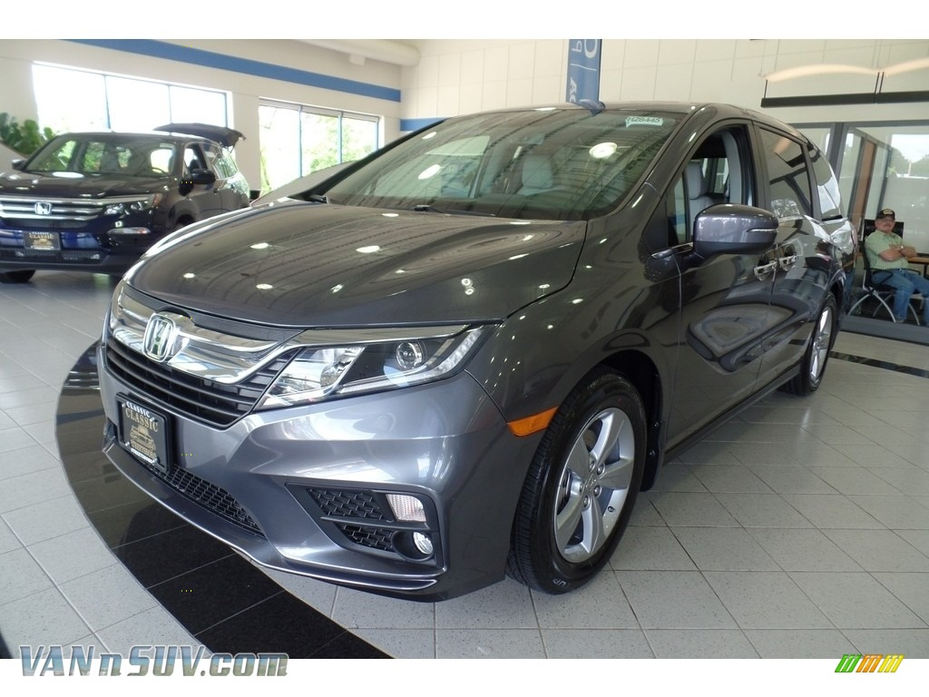 2018 Odyssey EX-L - Modern Steel Metallic / Gray photo #1