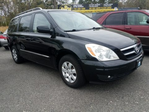 Galaxy Black 2007 Hyundai Entourage GLS