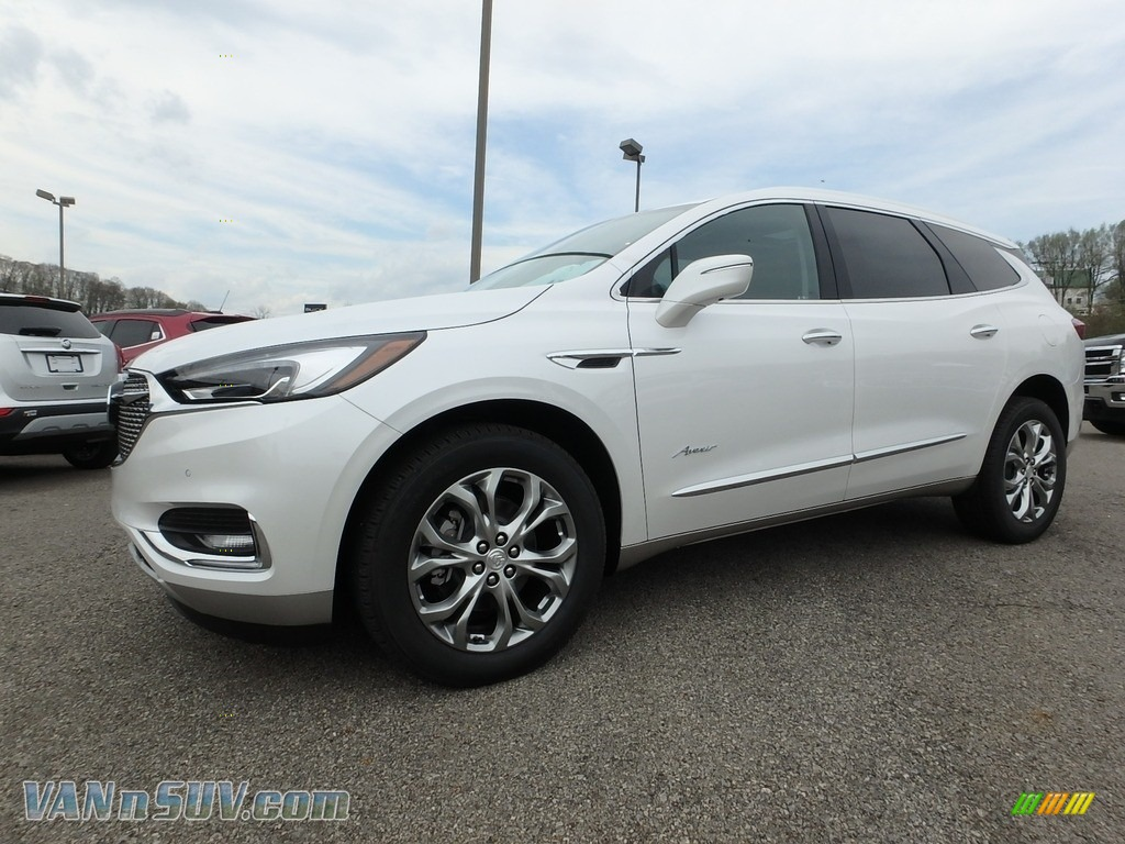 2018 Enclave Avenir AWD - White Frost Tricoat / Chestnut photo #1