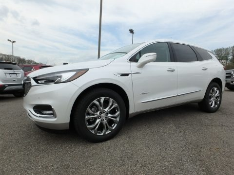 White Frost Tricoat 2018 Buick Enclave Avenir AWD