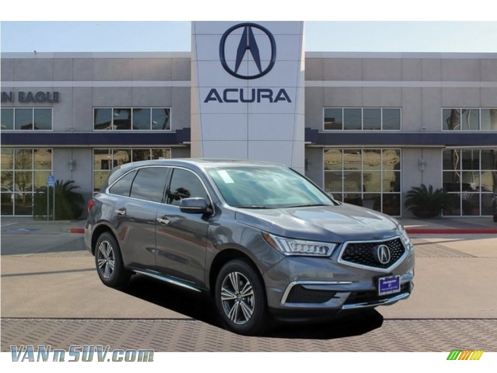 2018 MDX AWD - Modern Steel Metallic / Ebony photo #1