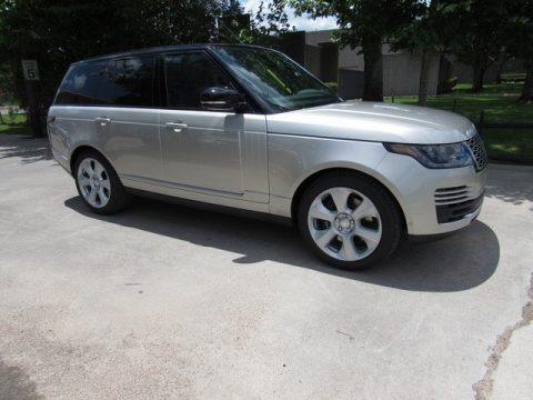 Aruba Metallic 2018 Land Rover Range Rover Supercharged