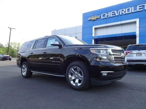 Black 2018 Chevrolet Suburban Premier