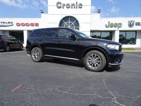 DB Black Crystal 2018 Dodge Durango SXT