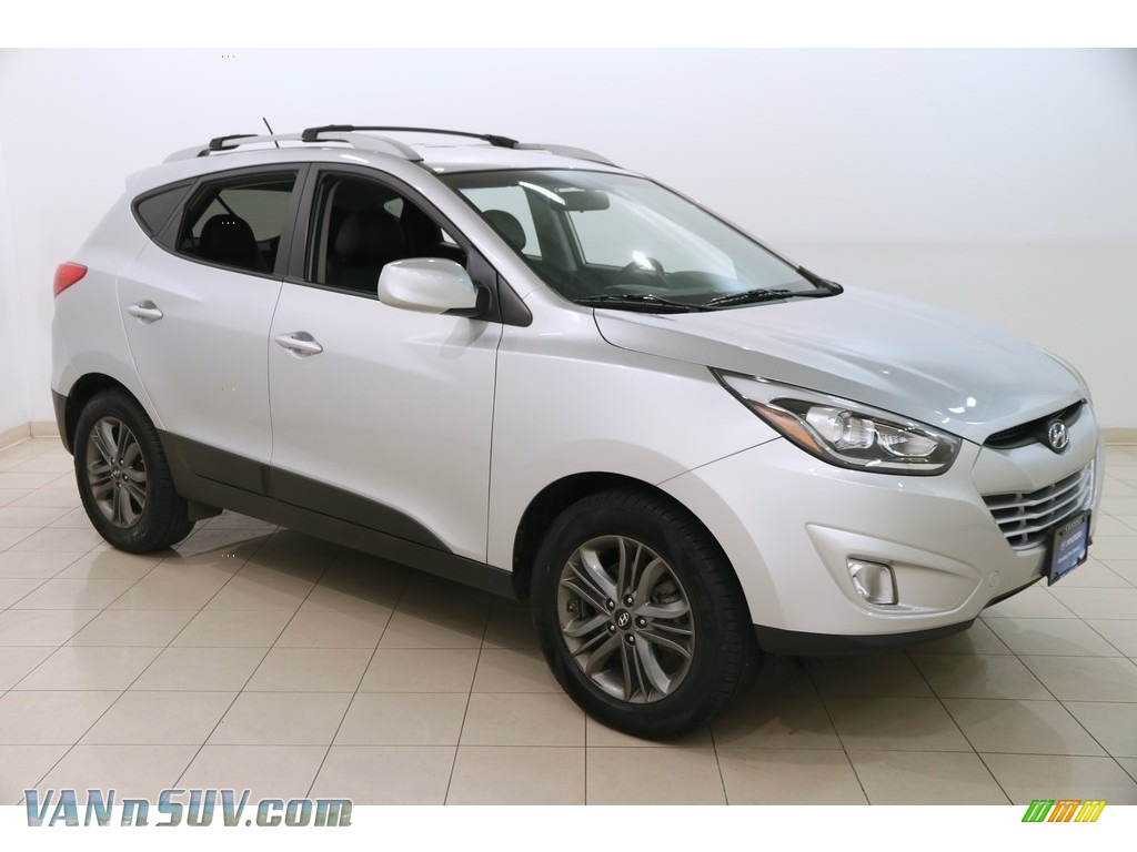 2015 Tucson SE AWD - Diamond Silver / Black photo #1
