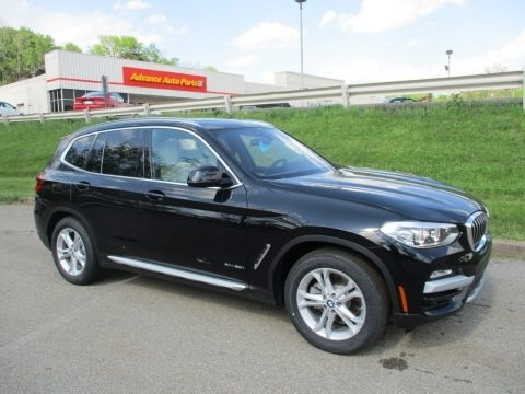Jet Black 2018 BMW X3 xDrive30i