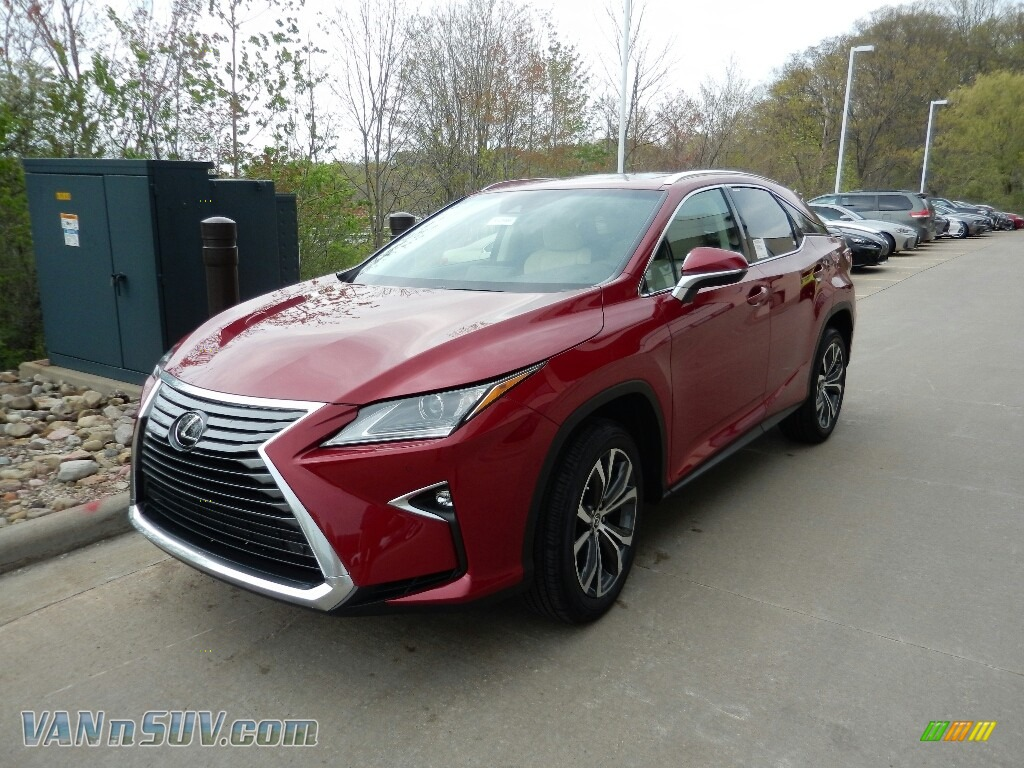 2018 RX 350 AWD - Matador Red Mica / Parchment photo #1