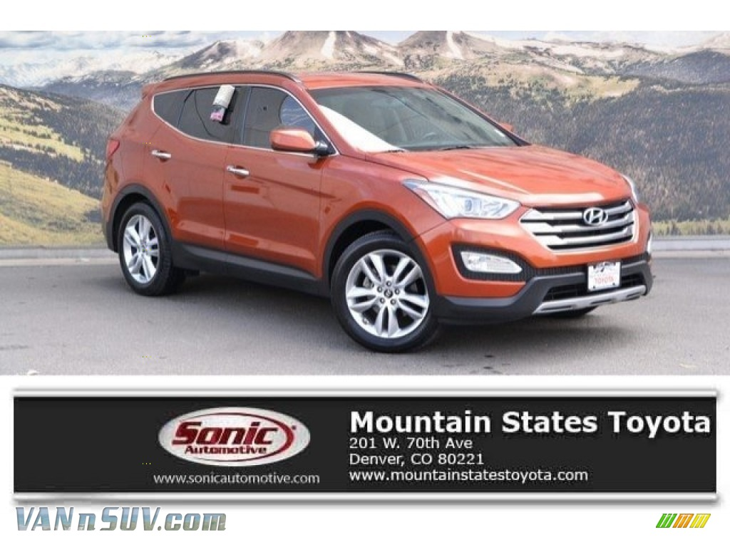 2013 Santa Fe Sport 2.0T - Canyon Copper / Beige photo #1