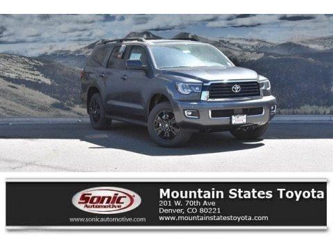 Magnetic Gray Metallic 2018 Toyota Sequoia TRD Sport 4x4