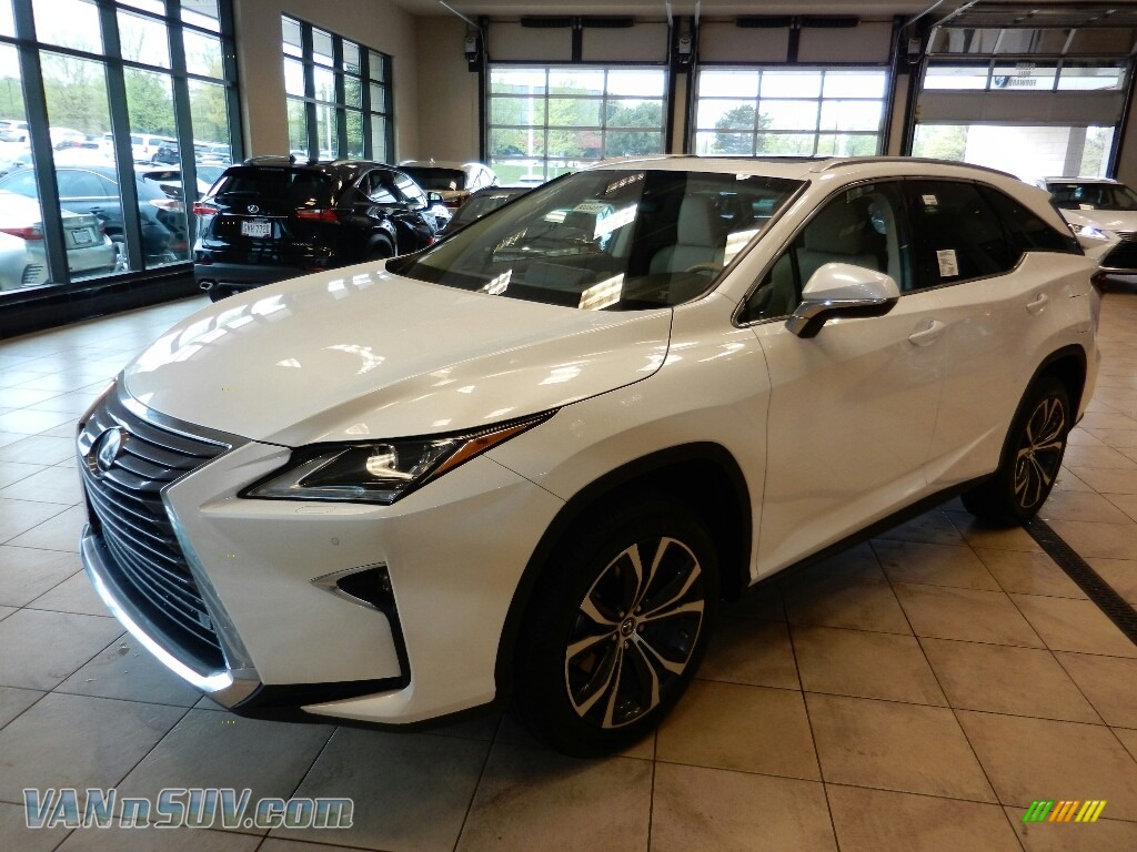 2018 RX 350L AWD - Eminent White Pearl / Parchment photo #1