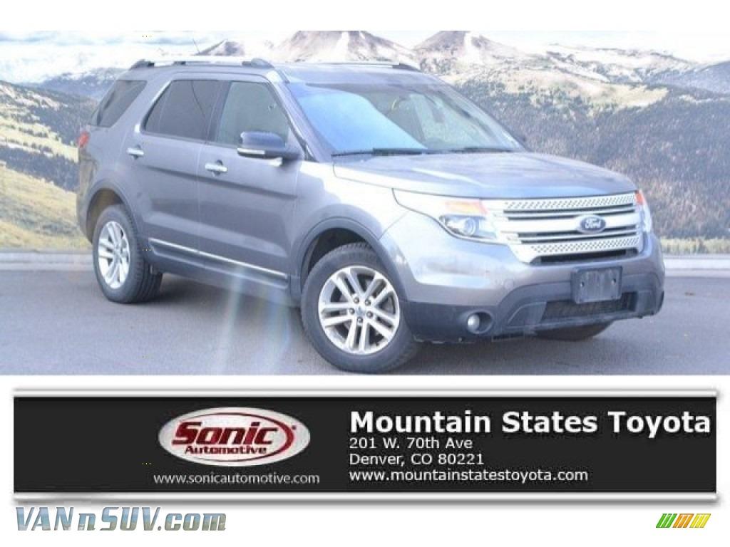 2011 Explorer XLT 4WD - Sterling Grey Metallic / Charcoal Black photo #1