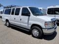 Ford E Series Van E350 XLT Extended Passenger Oxford White photo #1