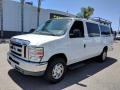 Ford E Series Van E350 XLT Extended Passenger Oxford White photo #3