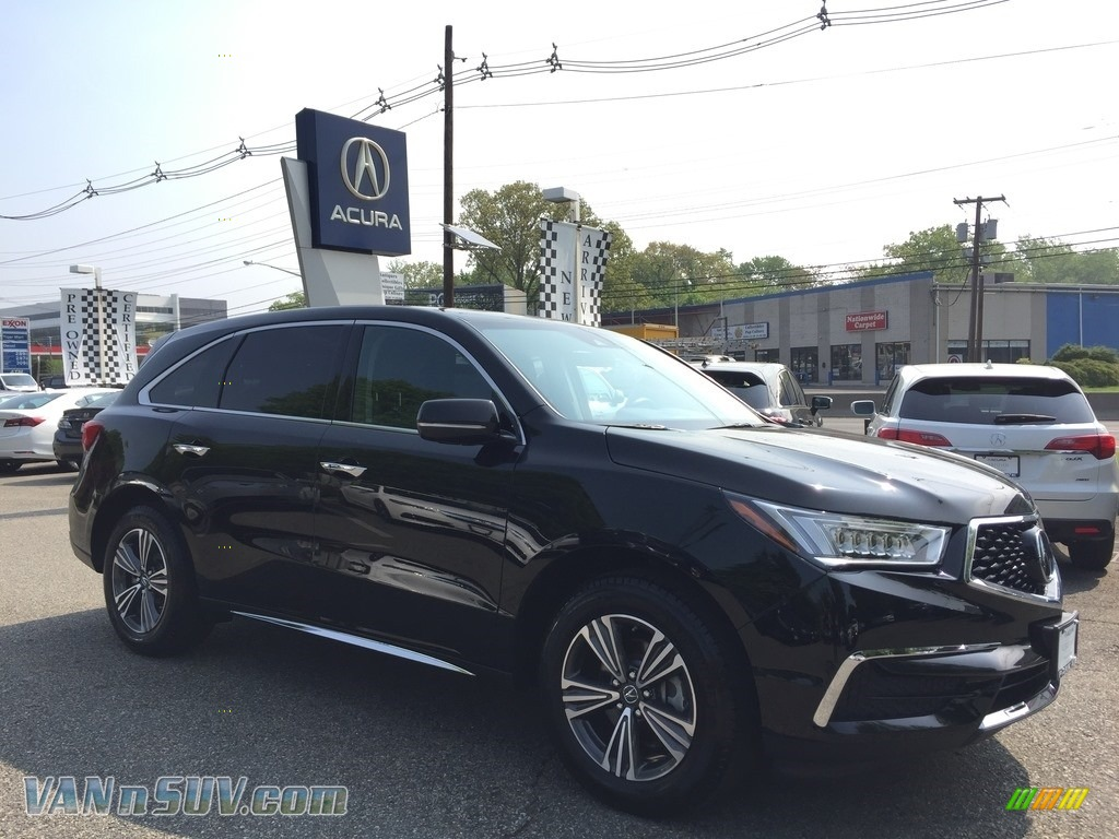 2017 MDX SH-AWD - Crystal Black Pearl / Ebony photo #1