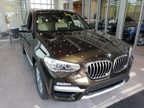 Dark Olive Metallic 2018 BMW X3 xDrive30i