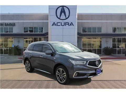 Modern Steel Metallic 2018 Acura MDX Sport Hybrid SH-AWD