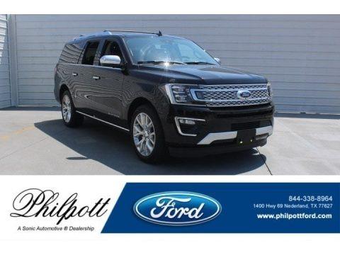Shadow Black 2018 Ford Expedition Platinum Max