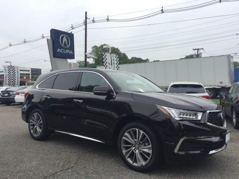 Black Copper Pearl 2017 Acura MDX Technology SH-AWD
