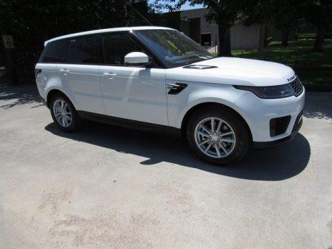 Fuji White 2018 Land Rover Range Rover Sport SE
