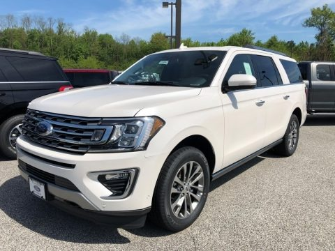 White Platinum 2018 Ford Expedition Limited Max 4x4
