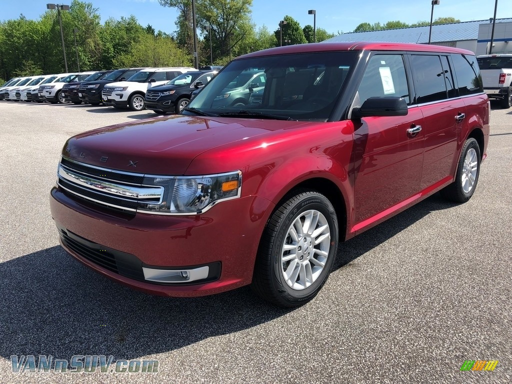 2018 Flex SEL AWD - Ruby Red / Charcoal Black photo #1