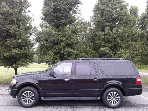 Shadow Black 2017 Ford Expedition EL XLT 4x4