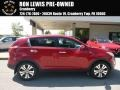 Kia Sportage EX AWD Signal Red photo #1