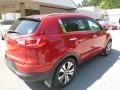 Kia Sportage EX AWD Signal Red photo #2