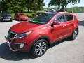 Kia Sportage EX AWD Signal Red photo #5