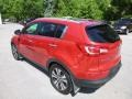 Kia Sportage EX AWD Signal Red photo #7