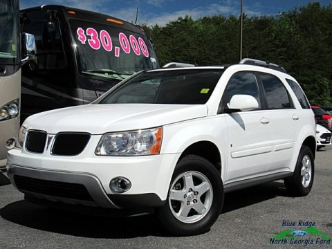Bright White 2006 Pontiac Torrent