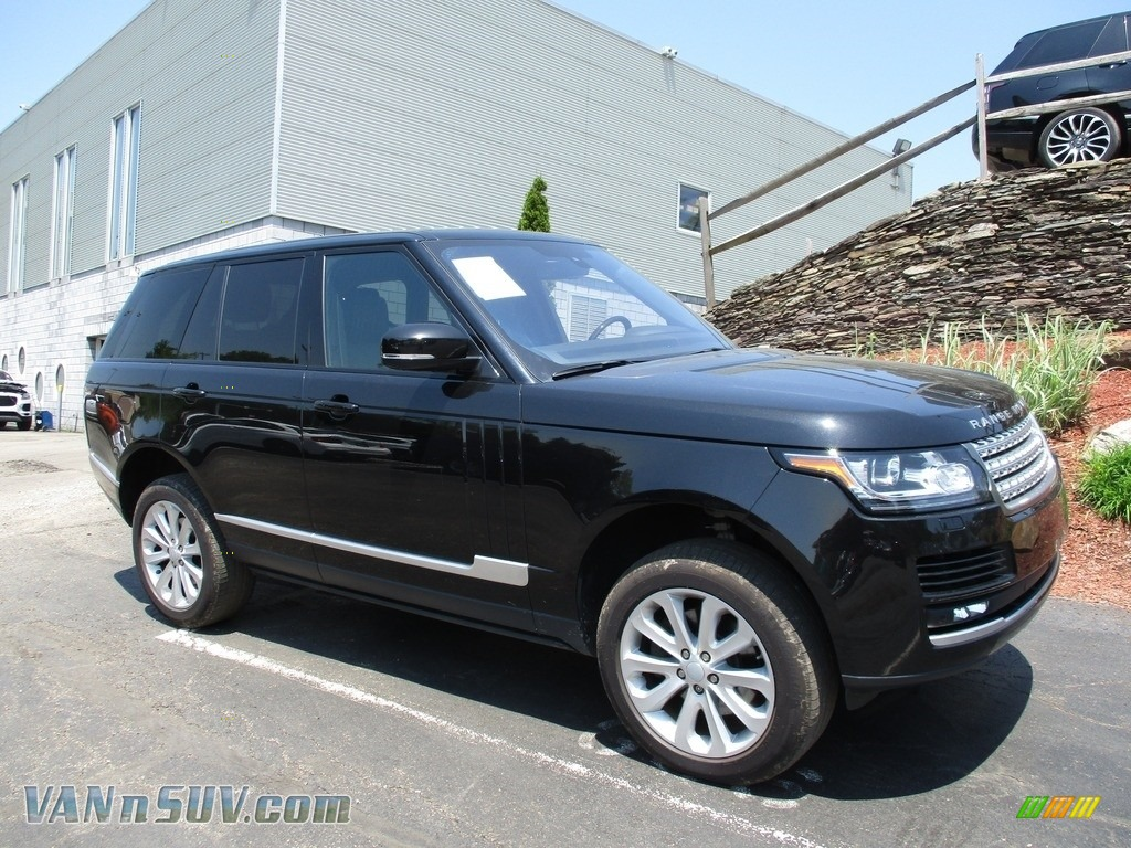 2016 Range Rover HSE - Santorini Black Metallic / Ebony/Ebony photo #1