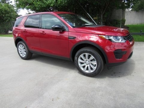 Firenze Red Metallic 2018 Land Rover Discovery Sport SE