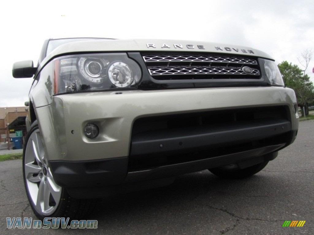 2013 Range Rover Sport HSE - Ipanema Sand Metallic / Almond photo #1