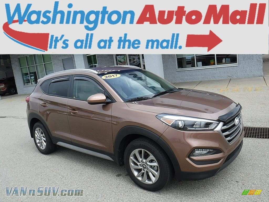 2017 Tucson SE AWD - Mojave Sand / Beige photo #1