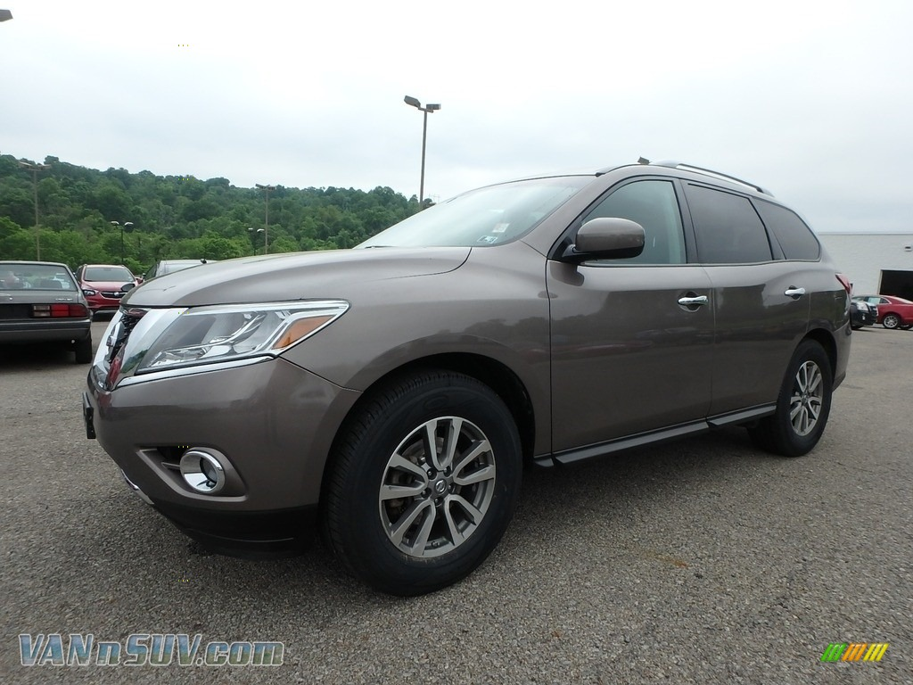 2014 Pathfinder SV AWD - Mocha Stone / Charcoal photo #1