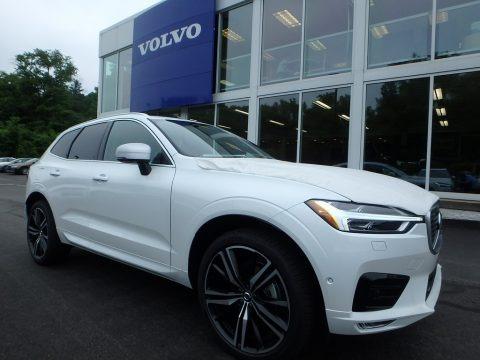 Crystal White Metallic 2018 Volvo XC60 T5 AWD R Design