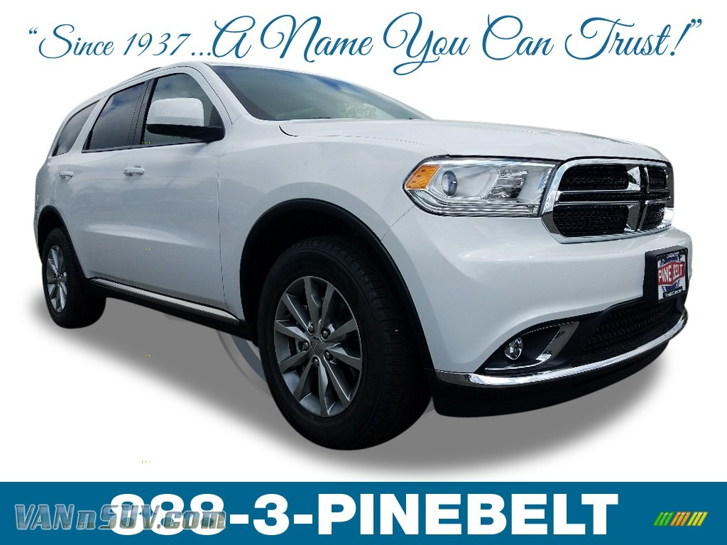 White Knuckle / Black Dodge Durango SXT AWD