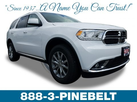 White Knuckle 2018 Dodge Durango SXT AWD
