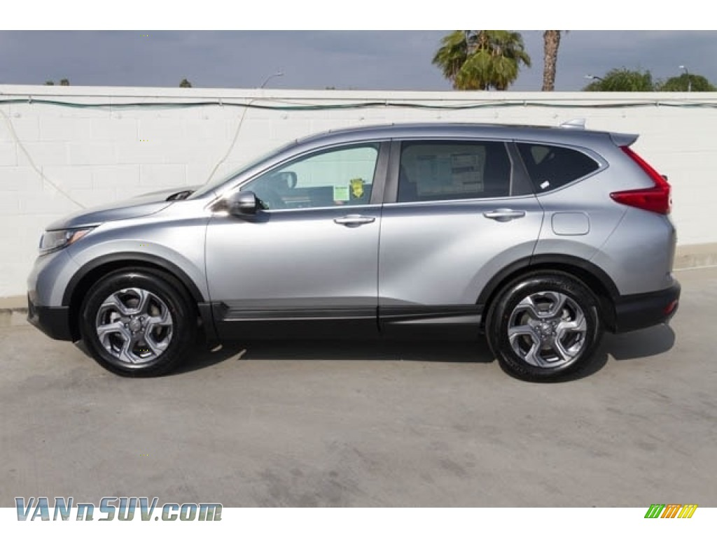 2018 CR-V EX-L - Lunar Silver Metallic / Black photo #5