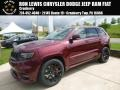 Jeep Grand Cherokee SRT 4x4 Velvet Red Pearl photo #1