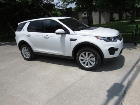 Fuji White 2018 Land Rover Discovery Sport SE