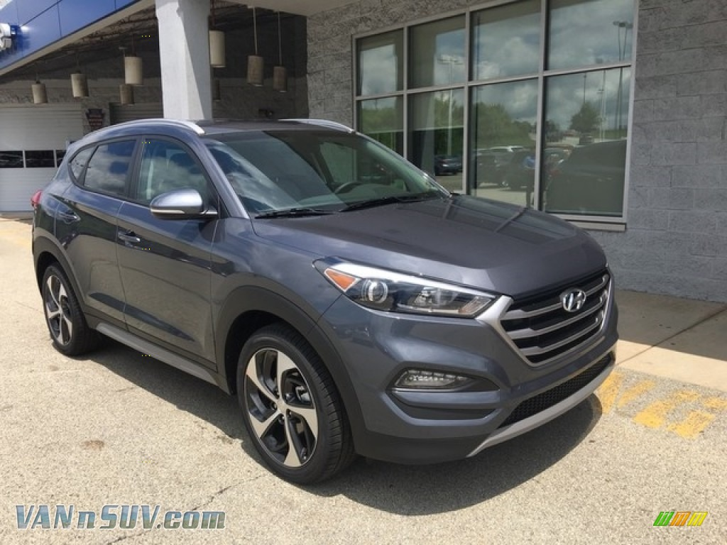 2018 Tucson Sport AWD - Coliseum Gray / Gray photo #1