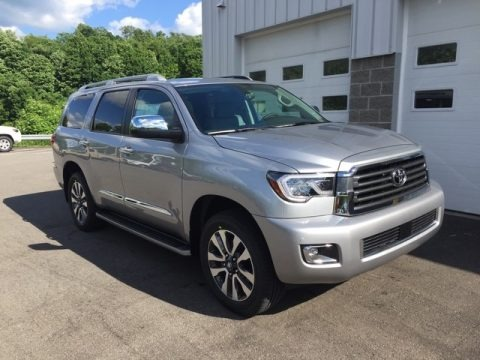 Silver Sky Metallic 2018 Toyota Sequoia Limited 4x4