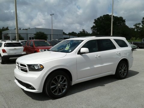 Vice White Tri-Coat Pearl 2018 Dodge Durango GT
