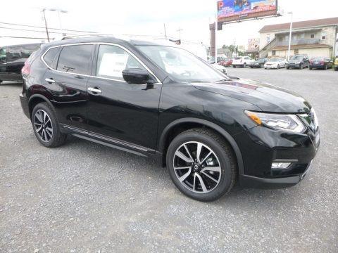Magnetic Black 2018 Nissan Rogue SL AWD