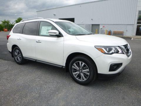 Pearl White 2018 Nissan Pathfinder SV 4x4